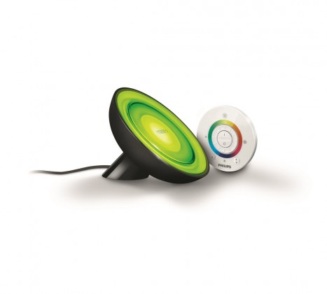 Aloha - Lampička LED, 12,6cm (černá)