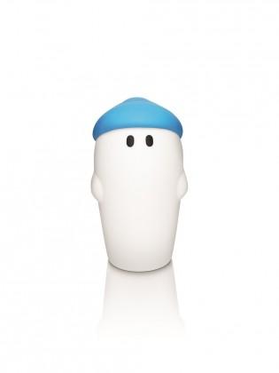 Aloha - Lampička LED, 9,4cm (modrá)