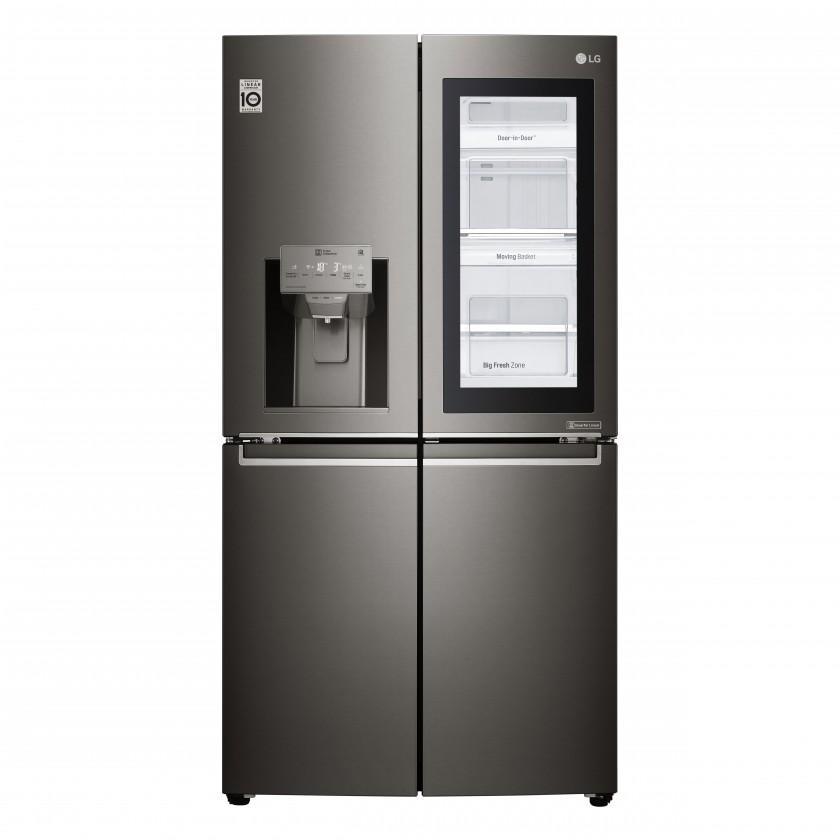 Americké lednice Americká 4dvéřová chladnička LG GMX936SBHV