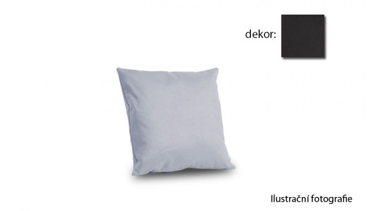 Amora - polštář 40x40cm (hero-anthrazit)