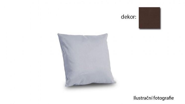 Amora - polštář 40x40cm (hero-schoko)
