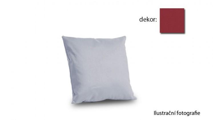Amora - polštář 50x50cm (hero-bordeaux)