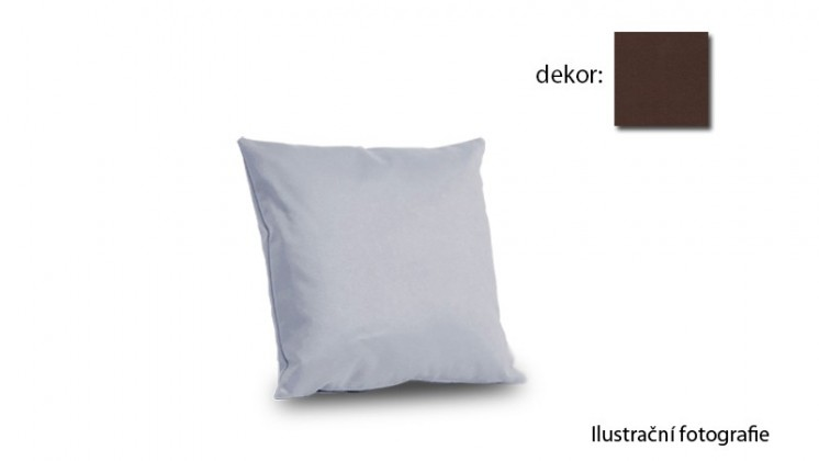 Amora - polštář 50x50cm (hero-schoko)
