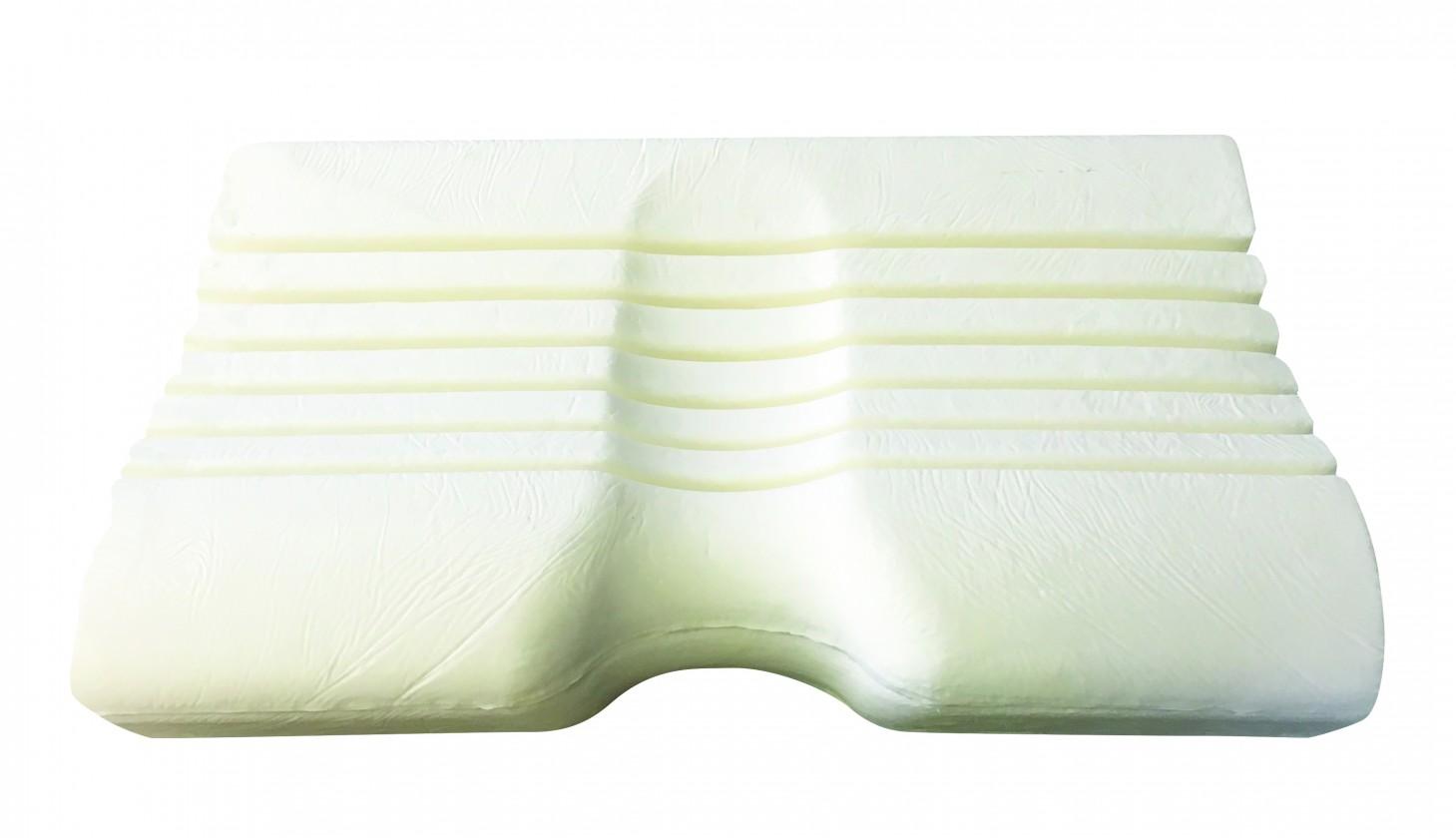 Anatomický polštář Van - ortopedický polštář, Visco líná pěna, 53x33x11