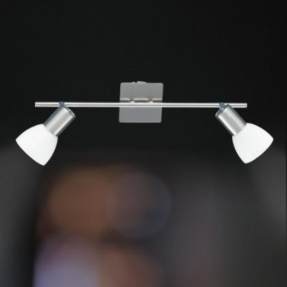 Angola - Stropní osvětlení, E14 (matný nikl)