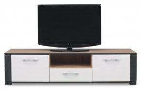 Anita - NA 1, TV stolek (dub sonoma/bílá lesk, grafit)