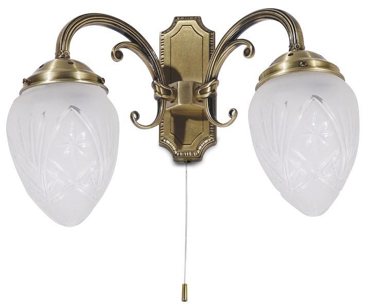 Annabella - Nástěnné osvětlení, 8632 (bronzová)