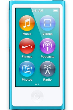Apple iPod nano 16GB - Blue (MD477HC/A)