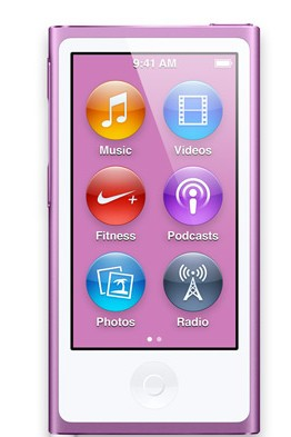Apple iPod nano 16GB - Purple (MD479HC/A)