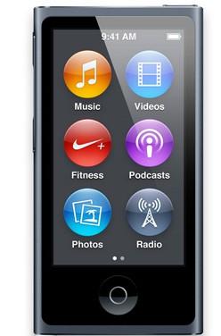 Apple iPod nano 16GB - Slate (MD481HC/A)