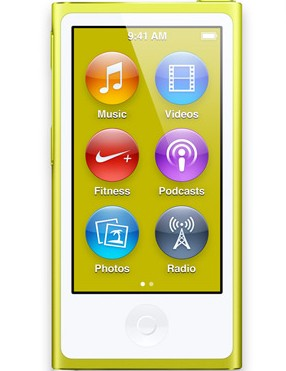 Apple iPod nano 16GB - Yellow (MD476HC/A)