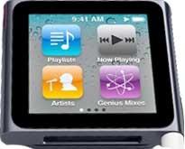 Apple iPod NANO 8GB/ MP3/ Dotykový LCD 240x240/ 6 generace