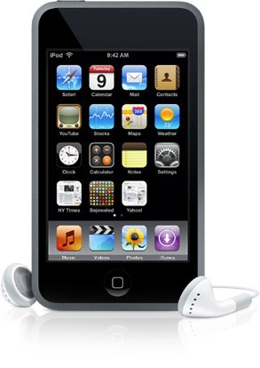 Apple iPod touch 16GB - Black (ME178HC/A)