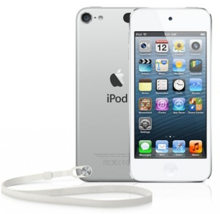 Apple iPod touch 64GB - White & Silver (MD721HC/A)