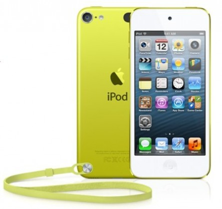 Apple iPod touch 64GB - Yellow (MD715HC/A)
