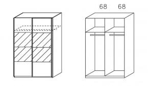 Apulien - s posuvnými dveřmi, 2 dveře