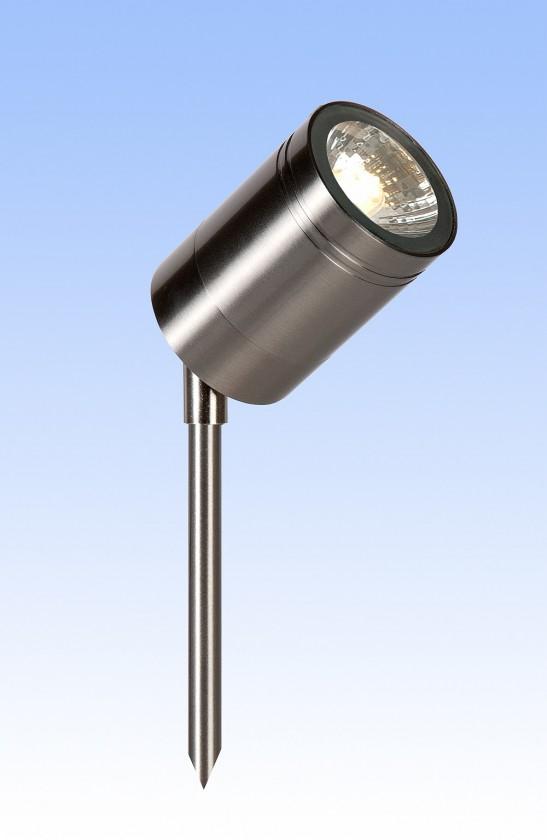 Arne - venkovní osvětlení, 35W, 1xGU10, 36 cm (stříbrná)