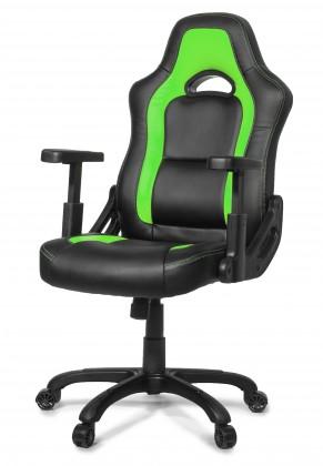 AROZZI herní židle MUGELLO/ černozelená