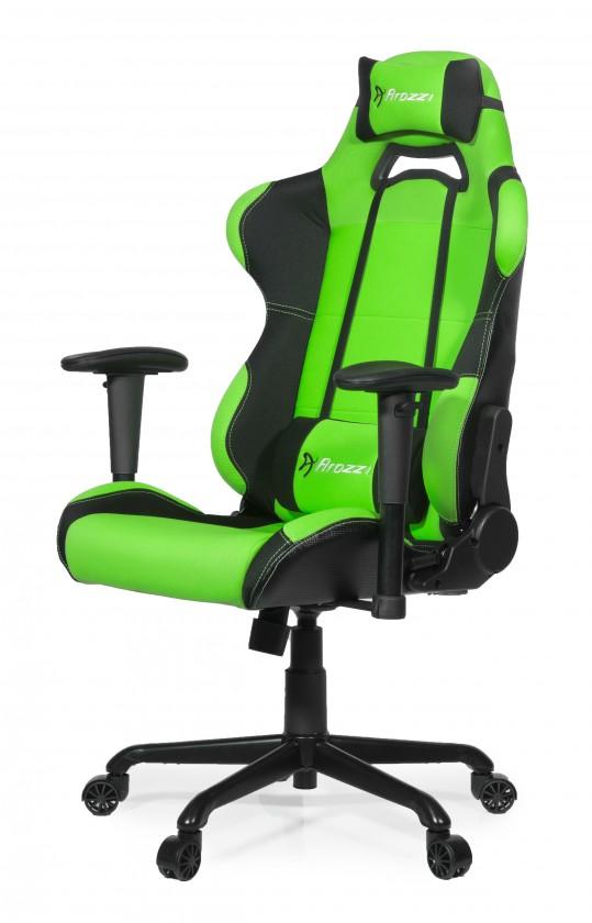 AROZZI herní židle TORRETTA/ černozelená