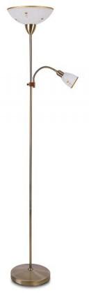 Art - Lampa, E27 (alabastrové sklo/bronzová)