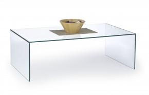 Astura - konferenční stolek skleněný (průhledná)