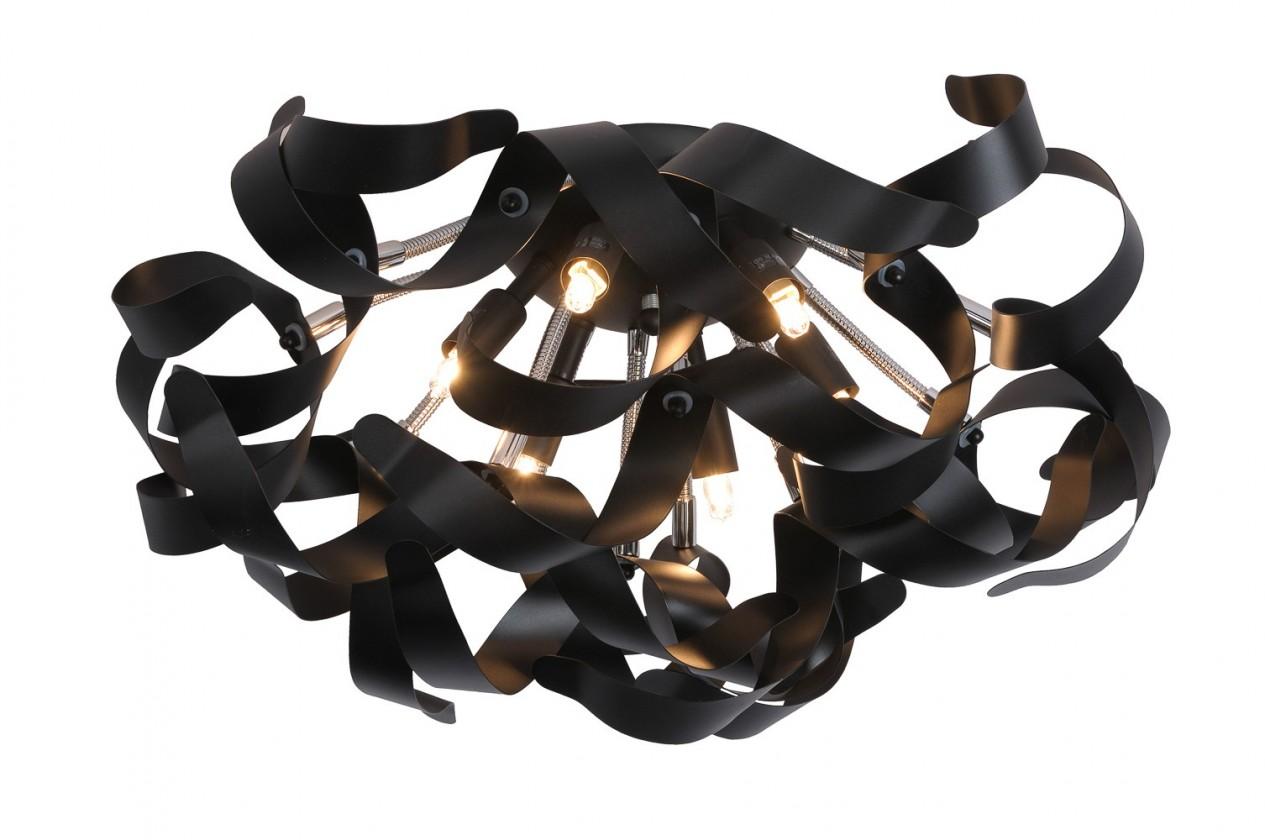 Atoma - stropní osvětlení, 33W, 6xG9 (černá)