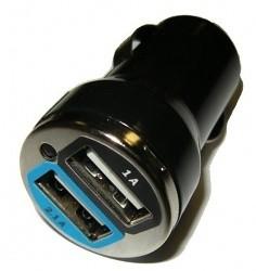 Autonabíječka USB s  2 x USB výstupem PSCUSBMINITOO2