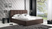 Avalon Rám postele 200x180, rošt, úložný prostor (eko skay 335)