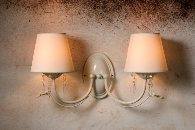 Bari - nástěnné osvětlení, 40W, 2xE14 (bílá)