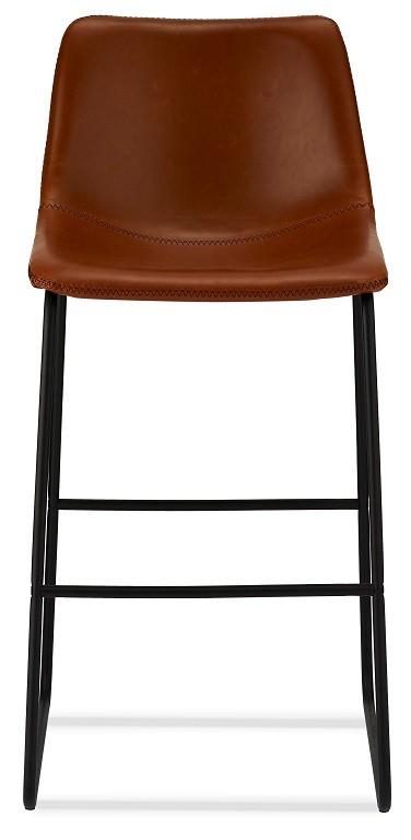Barová židle Barová židle Guaro hnědá, černá