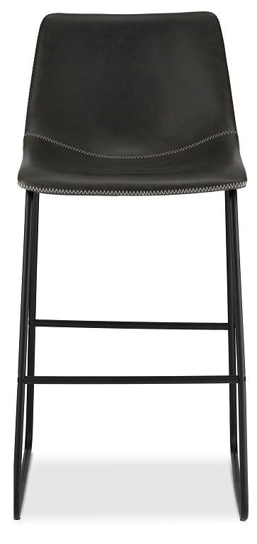 Barová židle Barová židle Guaro šedá, černá
