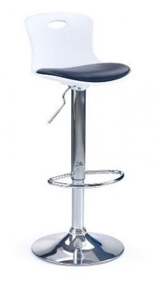 Barová židle Barová židle H49 (černá/bílá)