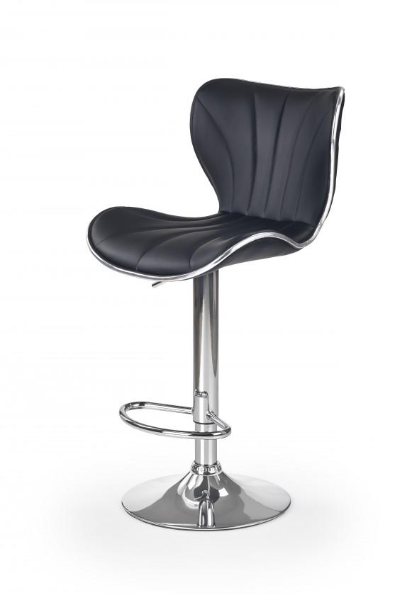 Barová židle Barová židle H69 (černá/stříbrná)