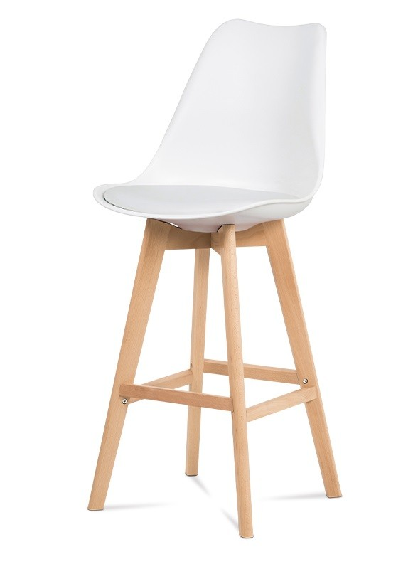 Barová židle Barová židle Lina (bílá)