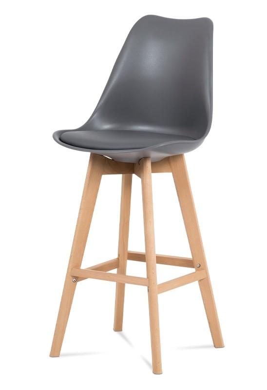 Barová židle Barová židle Lina (šedá)