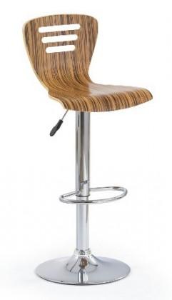 Barová židle H6 (zebra)