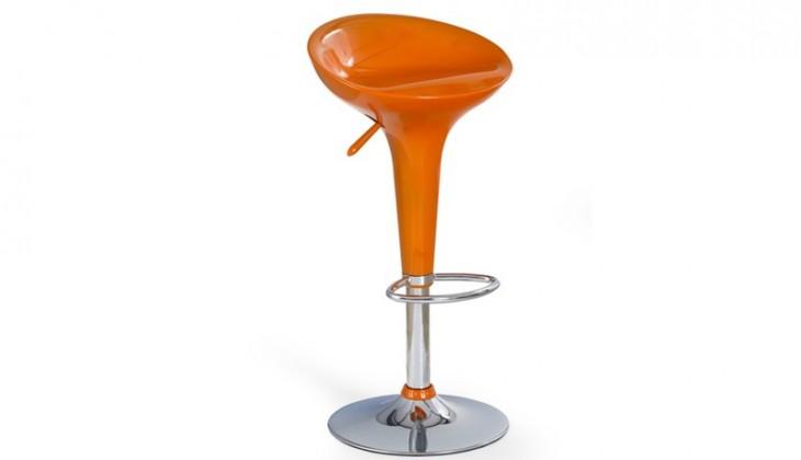 Barová židle Hoker H-17 (oranžová)