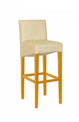 Barová židle Nera (přírodní buk/electra beige 003)