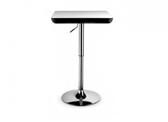 Barový stůl SB-5(bílo-černá / ocel)