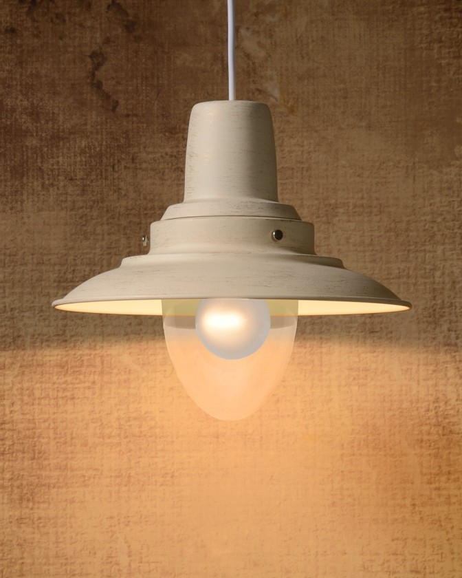 Bastia - stropní osvětlení, 24W, E27 (bílá)