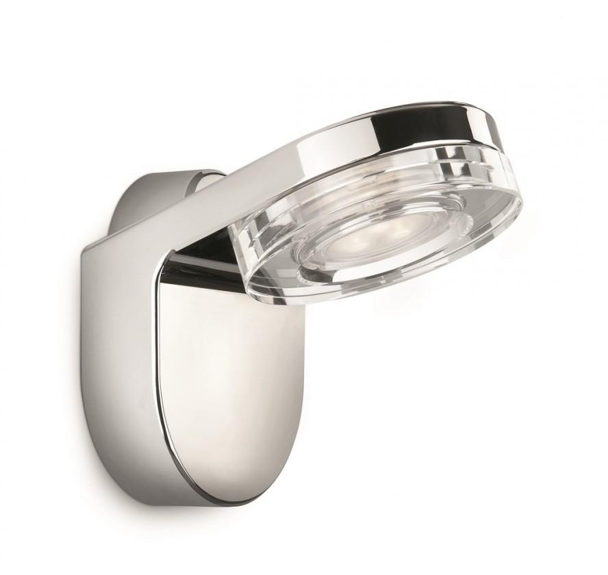 Bath - Koupelnové osvětlení LED, 10,1cm (lesklý chrom)