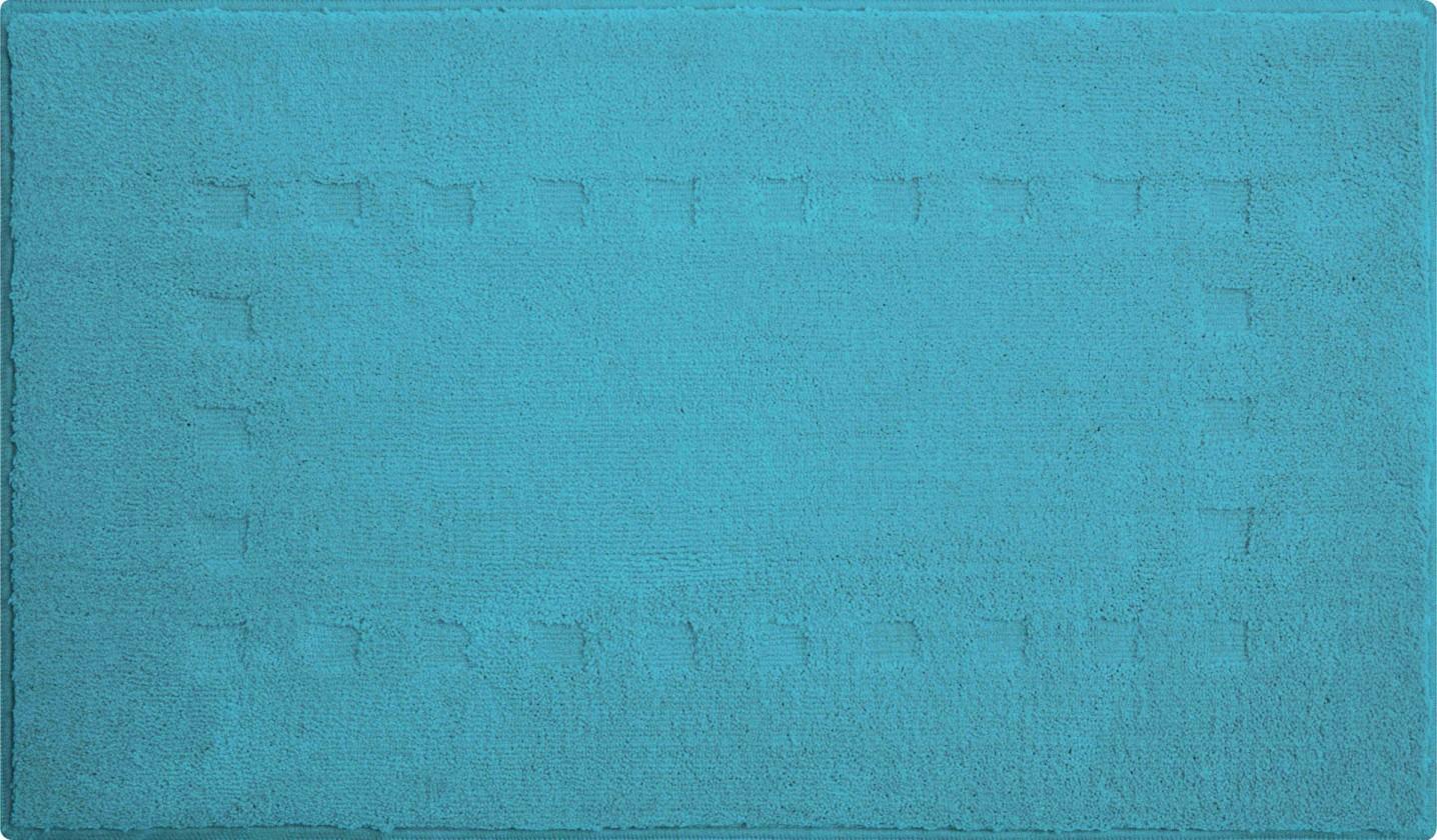 Batu - Koupelnová předložka 60x90 cm (aqua)