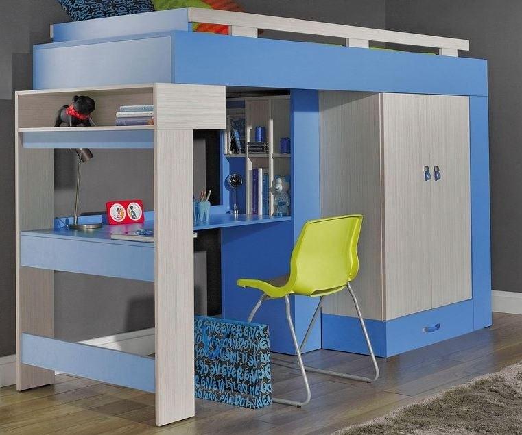 Bazar dětské pokoje Komi KM 15 (Modrá)
