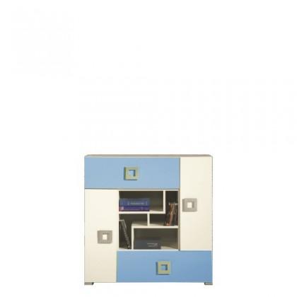 Bazar dětské pokoje LABYRINT LA 7 (krémová/modrá)