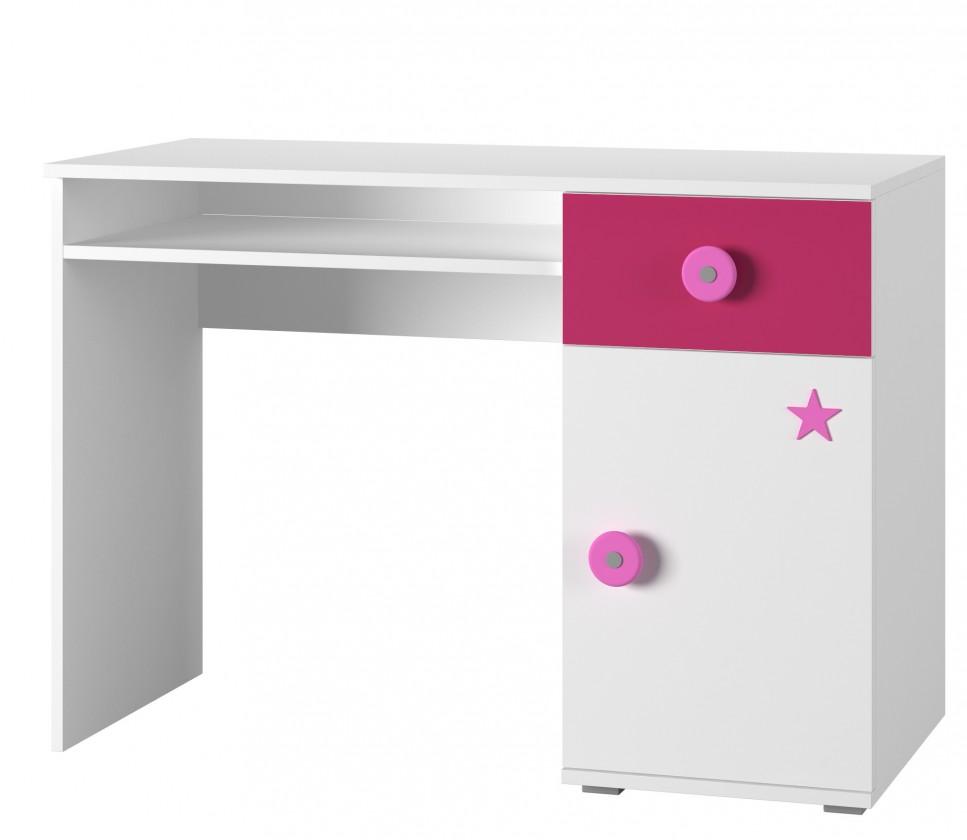 Bazar dětské pokoje Simba 12(korpus bílá/front bílá a růžová)