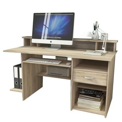 Bazar kanceláře P4 - Kancelářský stůl (dub sonoma)