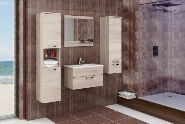 Bazar koupelny Adel - Sestava s umyvadlem (sonoma)