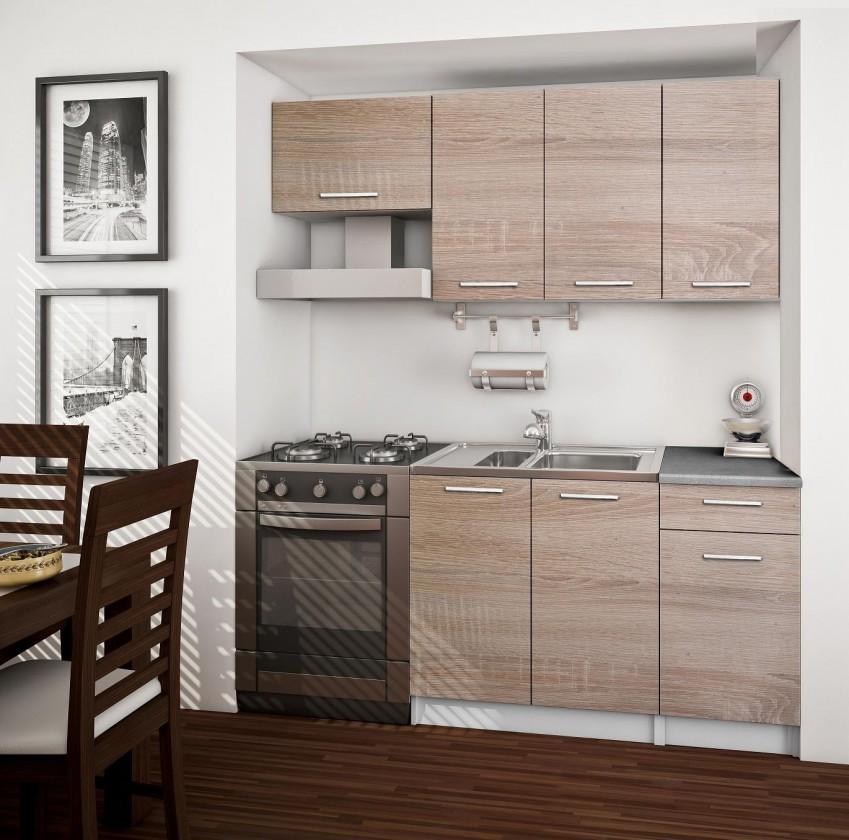 Bazar kuchyně, jídelny Basic - Kuchyňský blok 120/180cm (dub sonoma)