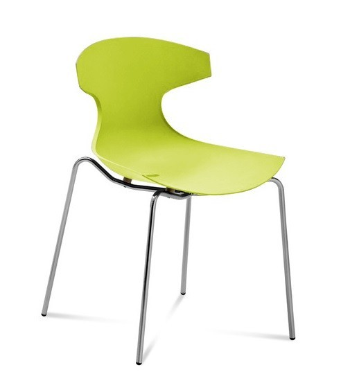 Bazar kuchyně, jídelny Echo - Jídelní židle (zelená pistáciová)