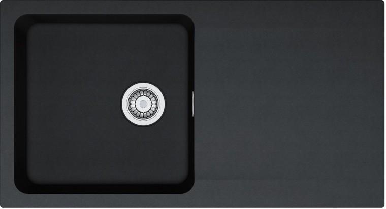 Bazar kuchyně, jídelny Franke - dřez Tectonite OID 611, 940x510 mm (černá)